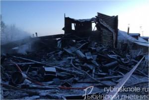 В ПЕсочном во время пожара сгорели люди