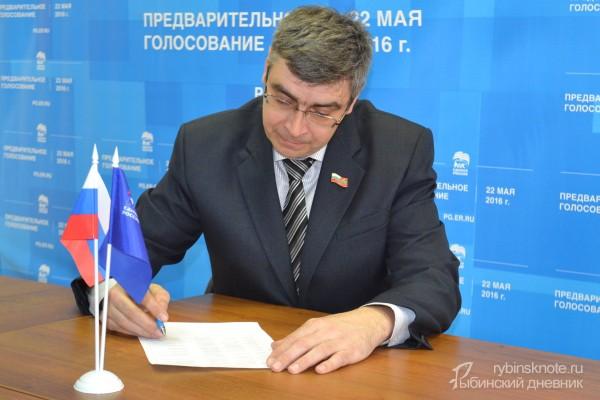 Соколов - кандидат на праймериз