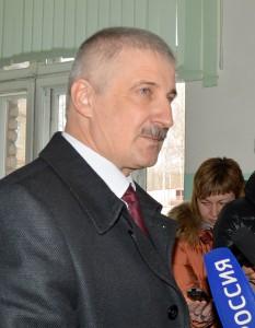 Добряков после голосования