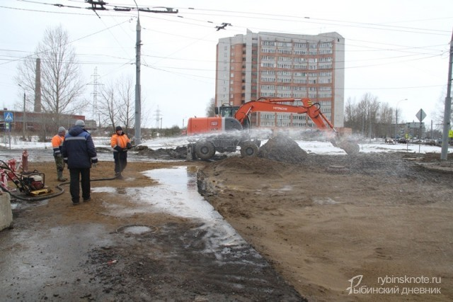 Аварию в Рыбинске устраняют по графику