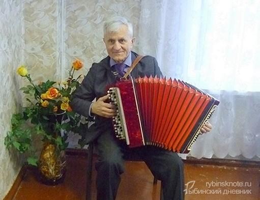 баянист-победитель из Рыбинска