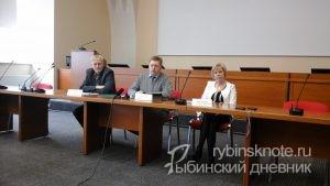Фото с пресс-конференции Теплоэнерго
