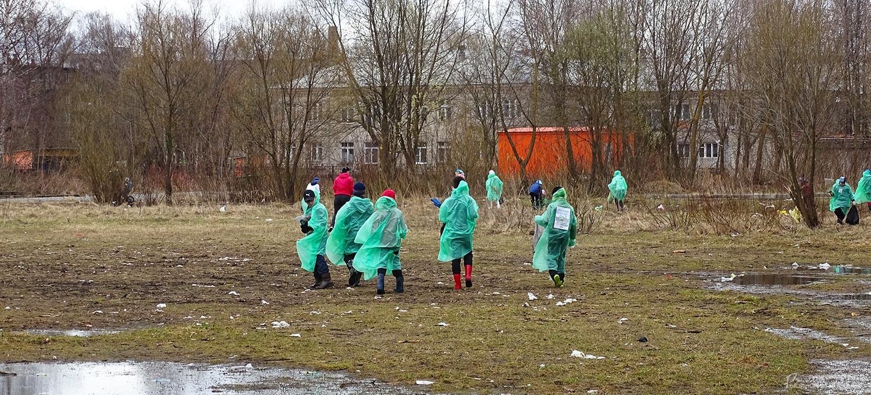 Дети на поле
