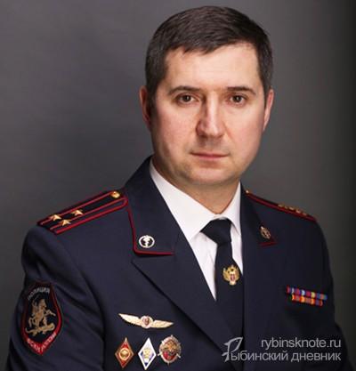 Начальник ФСКН по Ярославской области Виталий Хмельницкий
