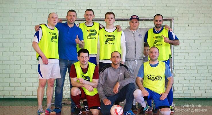 Победители турнира Рыбинска по мини-футболу ФСО г. Рыбинск