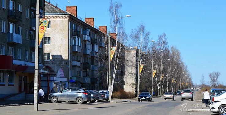 Флажки на бульваре Победы