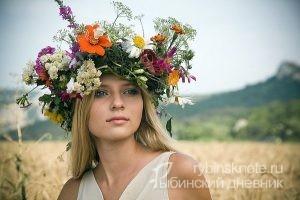 конкурс цветочных венков в Рыбинске