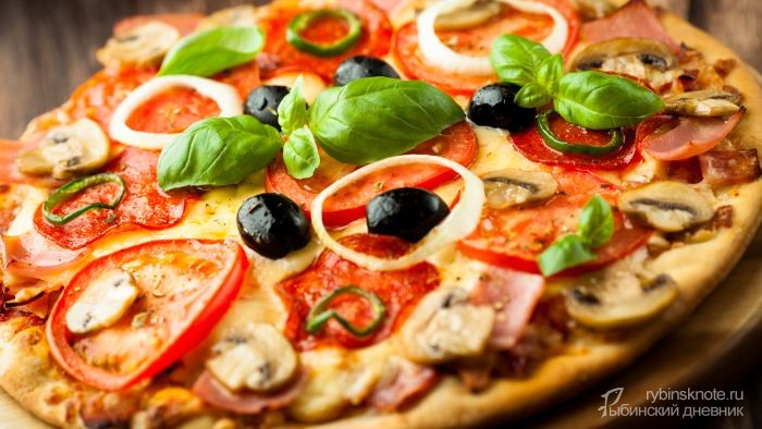 мастер-класс по мини-пицце