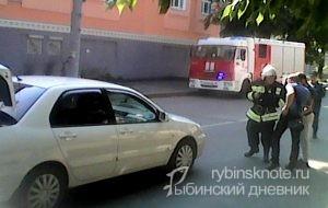 Наезд на пешехода в Рыбинске