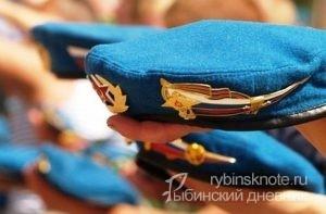 шествие десантников в Рыбинске