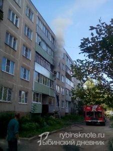 пожар на Ворошилова