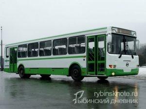 Зимнее расписание автобусных маршрутов в Рыбинске