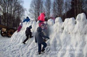 Снежная крепость рекорд 2016