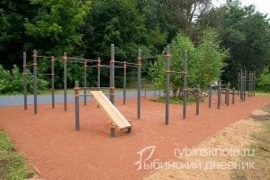 Спортивная площадка на Дмитрова