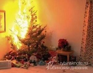 новогодние пожары
