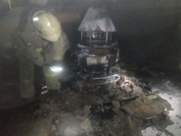 Элитная дача сгорела вкоттеджном поселке Грин Парк вНижегородской области