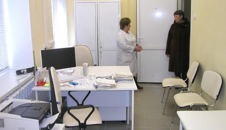 Амбулатория в Тихменево