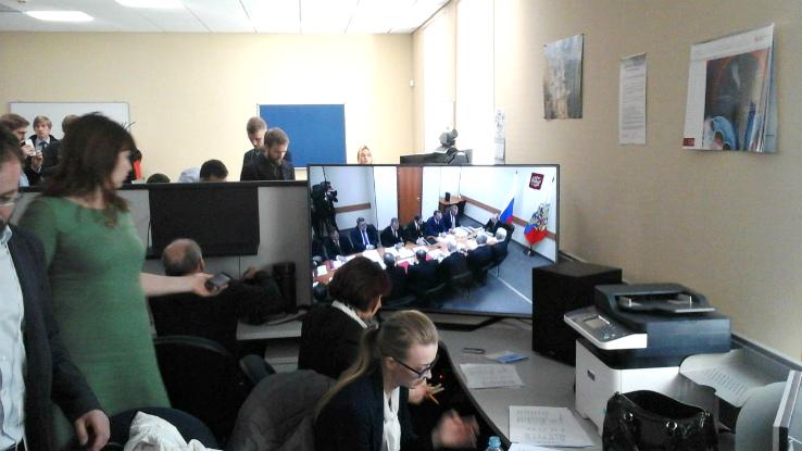 пресс-центр путин