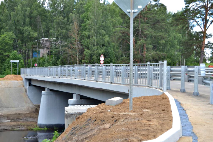 мост через Черёмуху