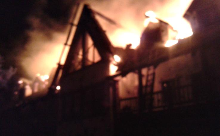 Пожар в Биг Фишъ