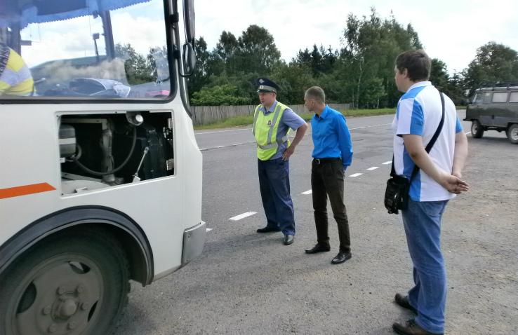 ГИБДД и автобусы