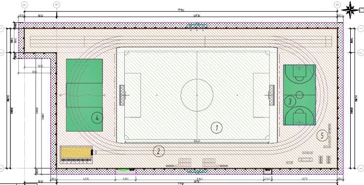 проект стадиона СОШ №6