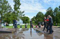 Гости почтили память погибших в ВОв