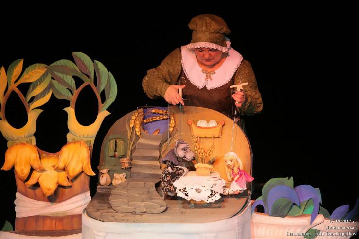 Рыбинский театр кукол получил приз залучший спектакль