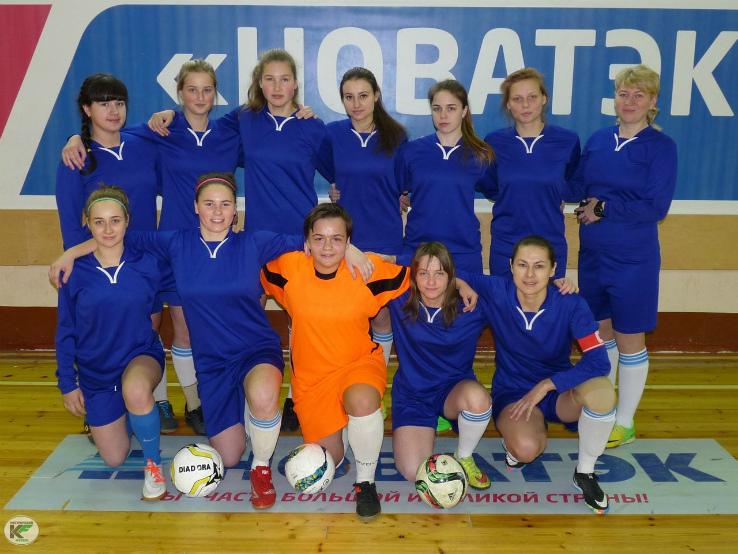 женская команда Рыбинска