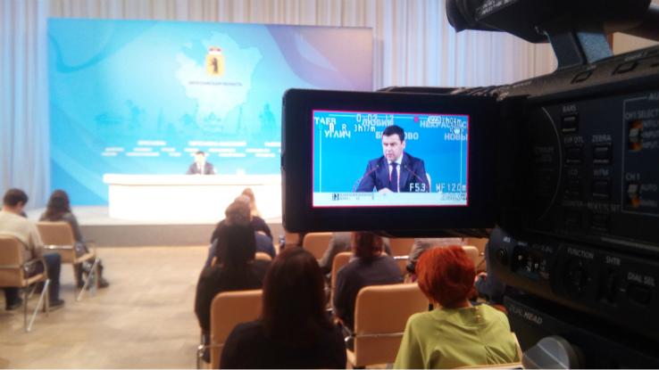 пресс-конференция у губернатора
