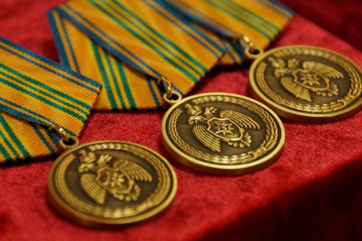 Медали ГО и ЧС