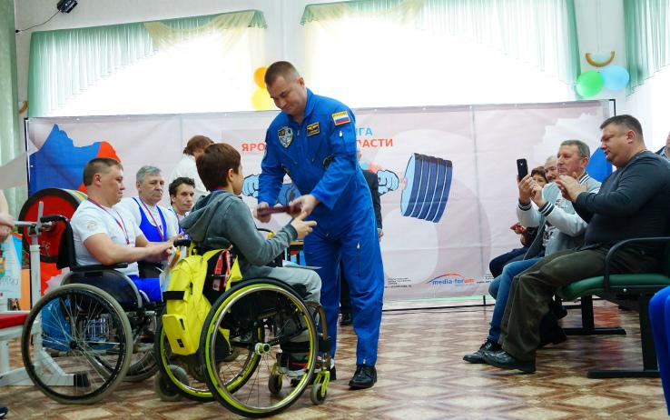 паэрлифтинг среди инвалидов