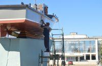 ремонт катера